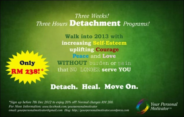 Detach Heal and Move On Program by Your Personal Motivator